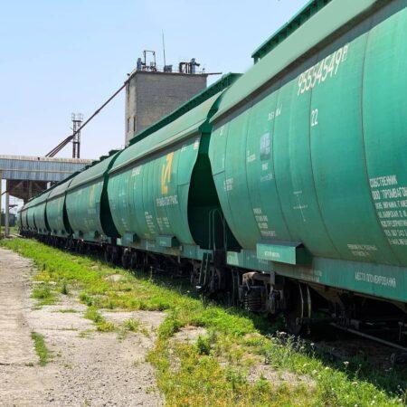 С элеваторов G.R. Agro отгружено первые 5000 тонн!